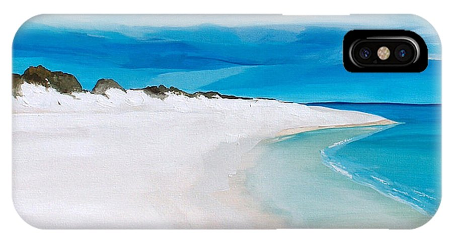 Beach IPhone Case featuring the painting Heaven by Racquel Morgan