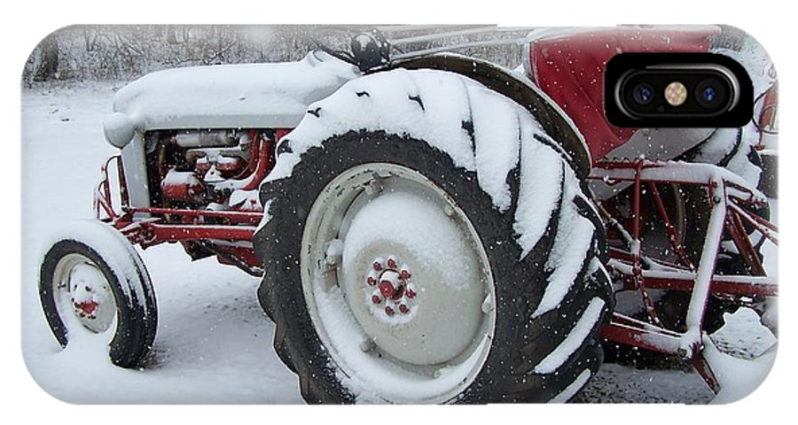 Tractor IPhone Case featuring the photograph Herman by Gale Cochran-Smith