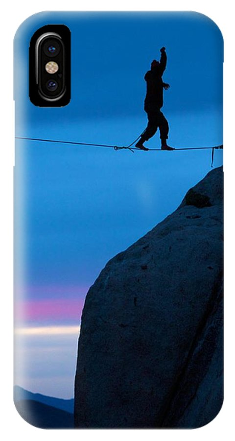 High Line IPhone X Case featuring the photograph High Line by Chris Anthony