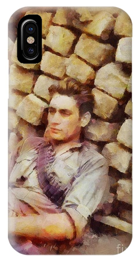 History In Color  French Resistance Fighter, Wwii IPhone X Case