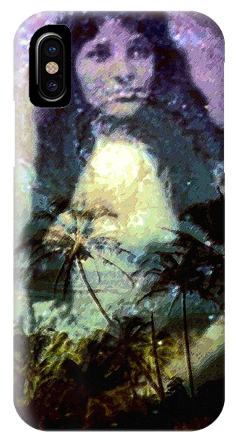 Tropical Interior Design IPhone Case featuring the photograph Ho Omana O by Kenneth Grzesik