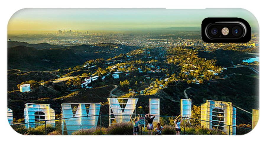 Los Angeles IPhone X Case featuring the photograph Hollywood Dreaming by Az Jackson