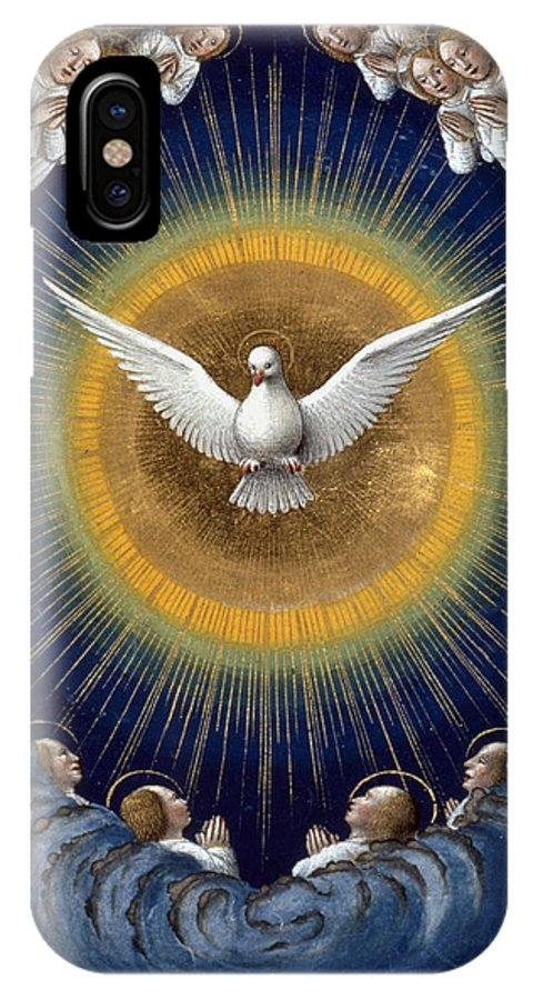 15th Century IPhone X Case featuring the photograph Holy Spirit by Granger