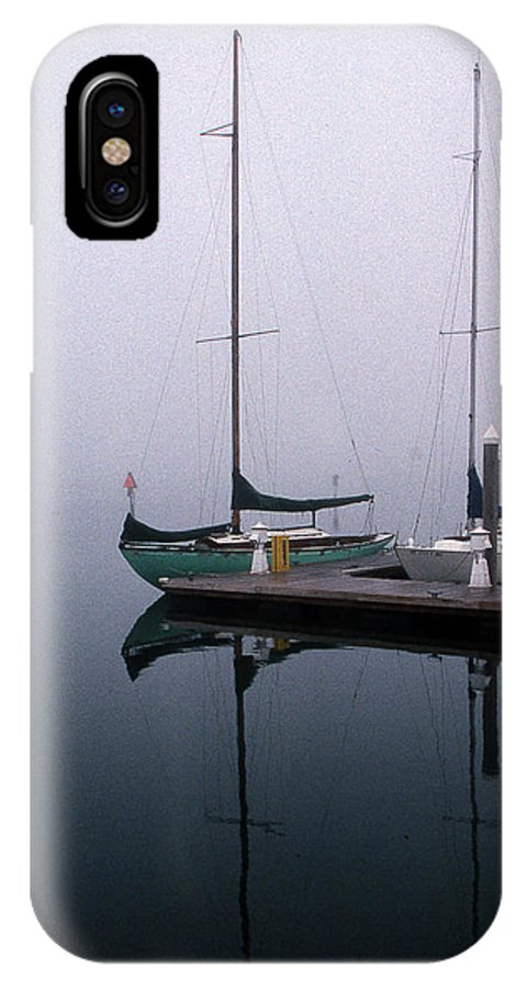 Marine IPhone X Case featuring the photograph Home Again by Skip Willits