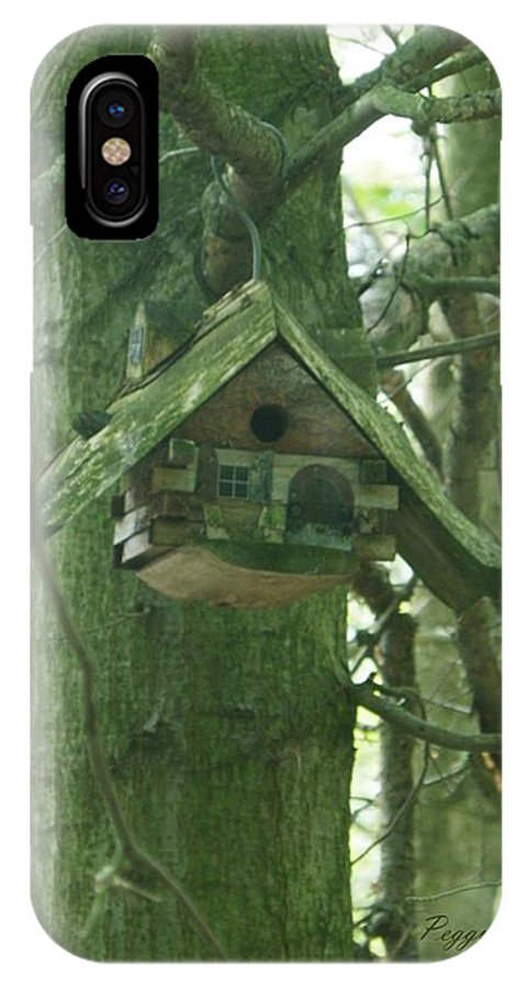 Heartland Forest IPhone X Case featuring the photograph Home In The Heartland by Peggy King