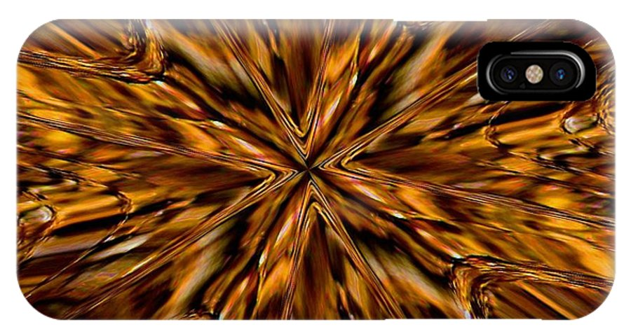 Fractal IPhone Case featuring the photograph Honey Flow by David Dunham