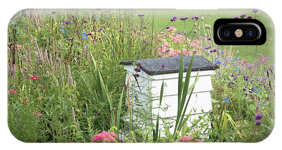 Cambridge IPhone X Case featuring the photograph Honey House by Monika Tymanowska