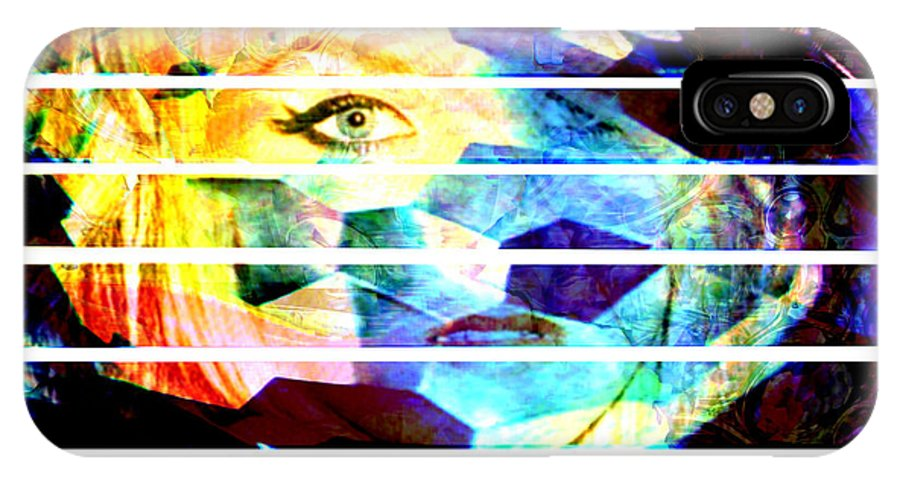 Woman IPhone Case featuring the digital art Horizontal View by Seth Weaver