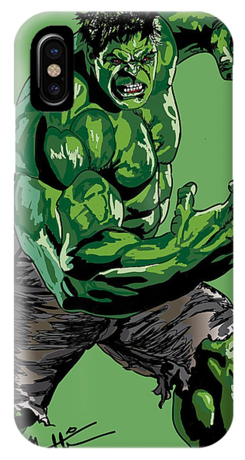 online store b0ce9 9e568 Hulk IPhone X Case