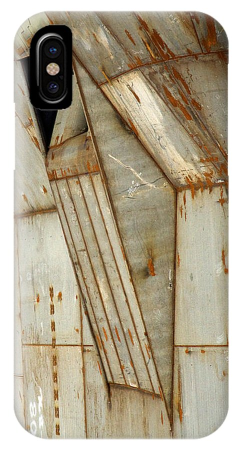 Hull IPhone X Case featuring the photograph Hull Detail by Tim Nyberg