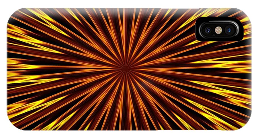 Fractal IPhone Case featuring the photograph Hypnosis 6 by David Dunham