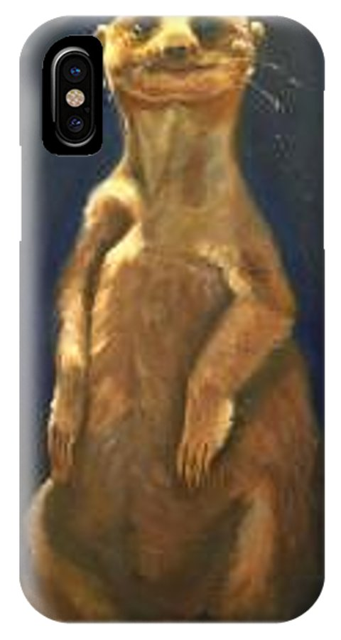 For Availability And Prices Of Limited Edition Prints/giclees IPhone X Case featuring the painting I See You by Greg Neal