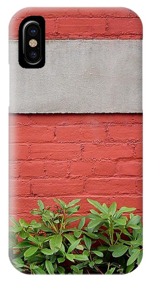 Bill Kellett IPhone X Case featuring the photograph I Support You by Bill Kellett