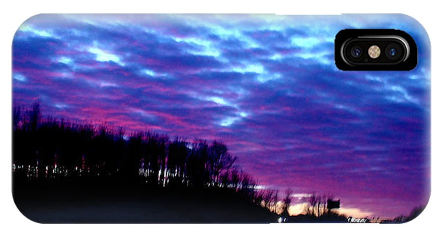 Landscape IPhone Case featuring the photograph I70 West Ohio by Steve Karol