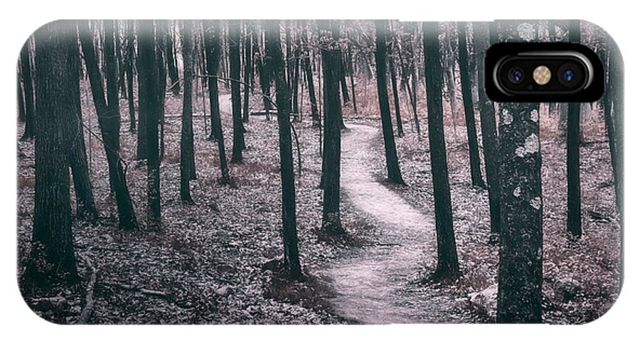 Forest IPhone X Case featuring the photograph Ice Age Trail Near Lapham Peak by Scott Norris