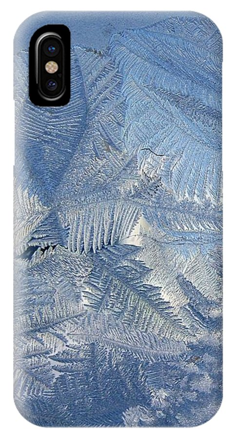 Ice IPhone Case featuring the photograph Ice Crystals by Rhonda Barrett