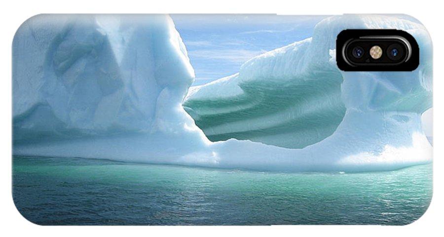 Photograph Iceberg Ocean Summer Newfoundland IPhone X / XS Case featuring the photograph Iceberg by Seon-Jeong Kim