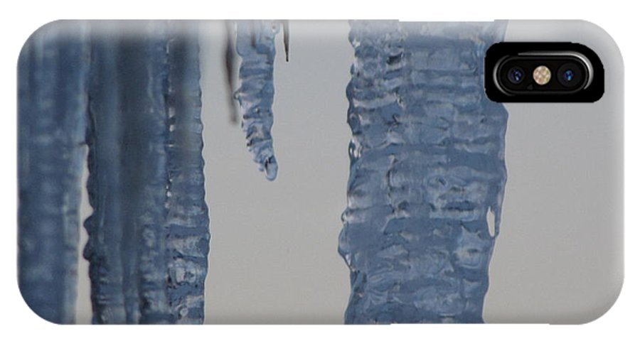 Icicle IPhone Case featuring the photograph Icicles 4 by Melissa Parks