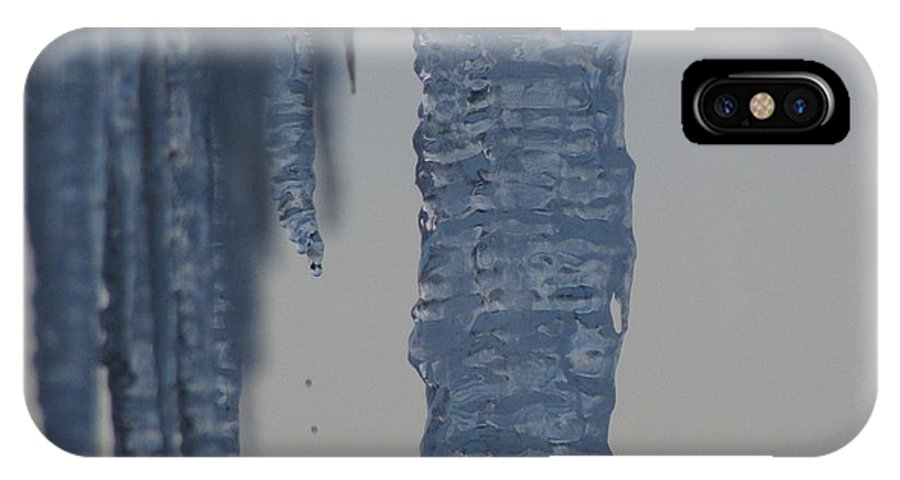 Digital IPhone Case featuring the photograph Icicles 5 by Melissa Parks