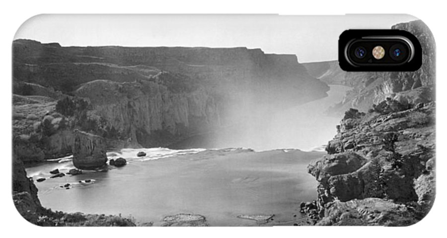 1874 IPhone X Case featuring the photograph Idaho: Snake River Canyon by Granger