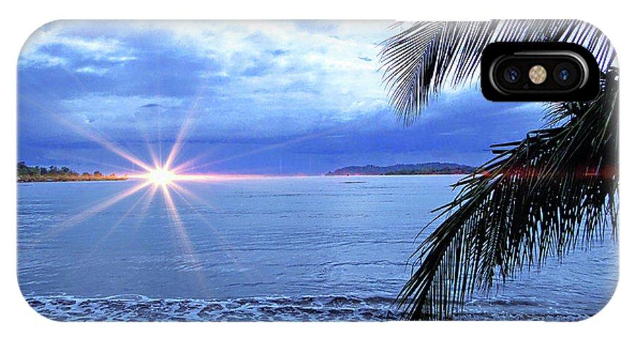Beach IPhone X Case featuring the photograph Idyllic Paradise In Bocas Del Toro, Panama II by Al Bourassa