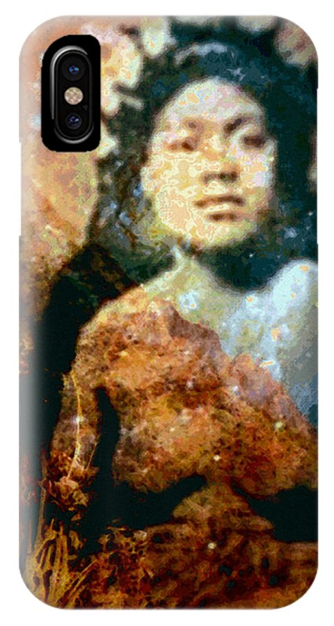 Tropical Interior Design IPhone Case featuring the photograph Ike Papalua by Kenneth Grzesik