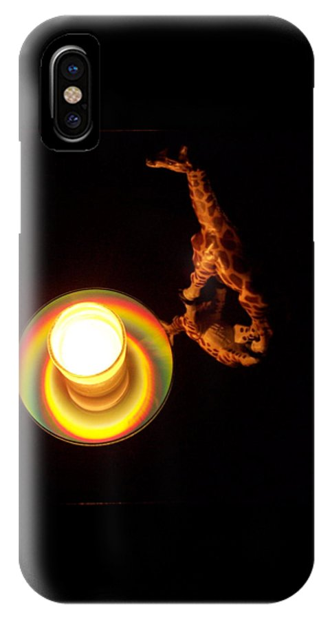 Giraffe IPhone Case featuring the photograph Illuminated Objects by Michelle Miron-Rebbe