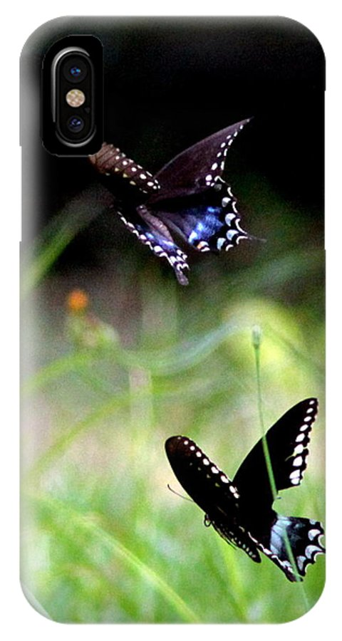 Butterfly IPhone X Case featuring the photograph Img_1521 - Butterfly by Travis Truelove