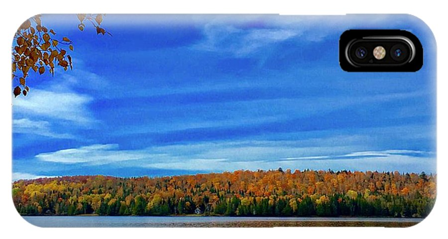 Portage Lake IPhone X Case featuring the photograph Img_1799.jpg Portage Lake Maine by Charles Cormier