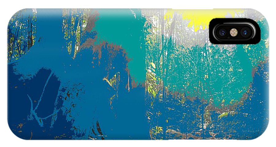 Rainforest IPhone Case featuring the photograph In The Rainforest by Ian MacDonald