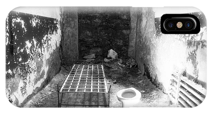 John Rizzuto IPhone X Case featuring the photograph Incarceration by John Rizzuto