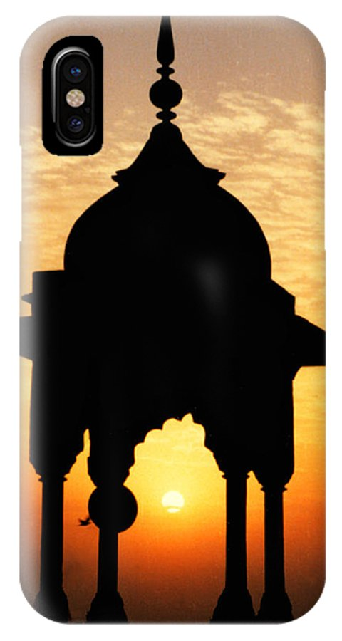 India IPhone X Case featuring the photograph India by Kurt Van Wagner