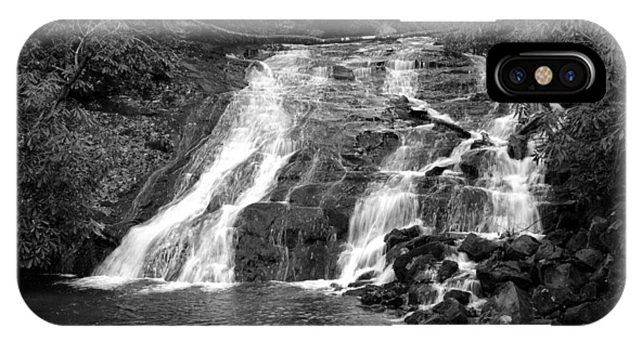 Nature IPhone X Case featuring the photograph Indian Falls At Deep Creek by Kathy Schumann