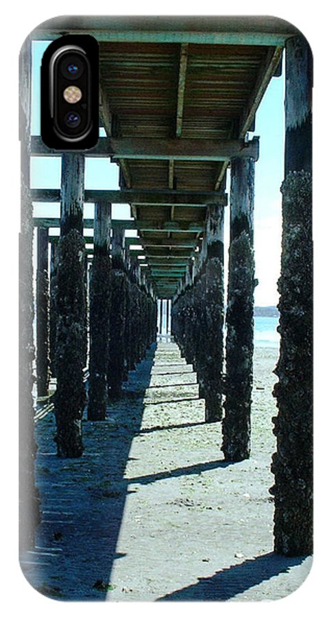 IPhone X Case featuring the photograph Indianola Washington Dock 2 by Kevin Mcenerney