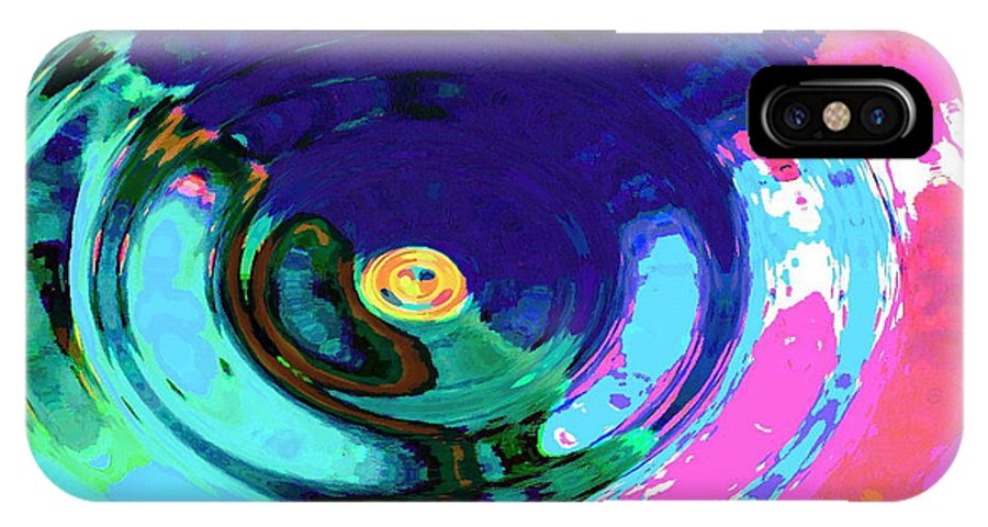 Blue IPhone Case featuring the digital art Infinity by Natalie Holland
