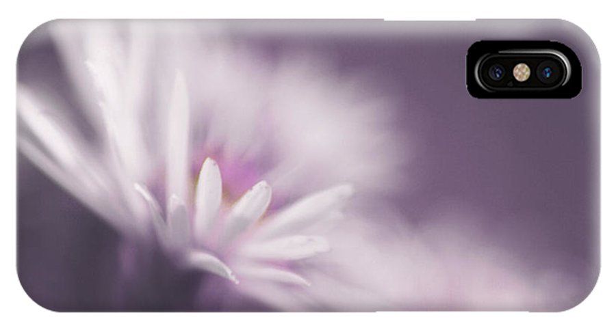 Flower IPhone X Case featuring the photograph Innocence - Pp by Aimelle