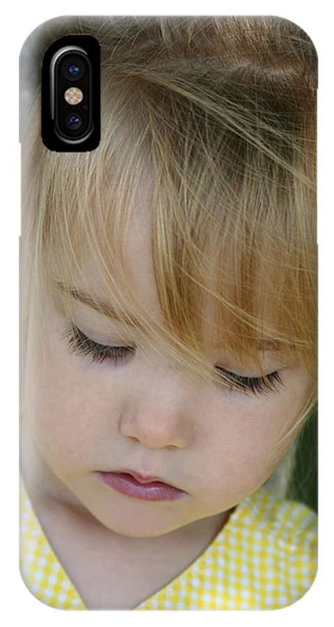 Angelic IPhone Case featuring the photograph Innocence II by Margie Wildblood