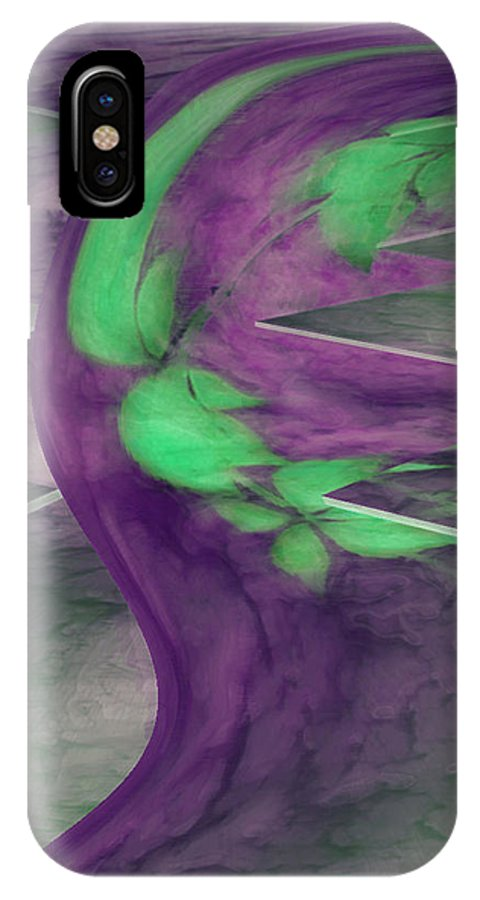 Abstracts IPhone Case featuring the digital art Insight by Linda Sannuti