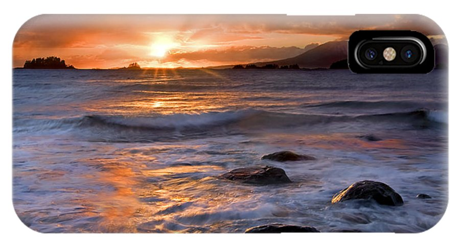Alaska IPhone Case featuring the photograph Inspired Light by Mike Dawson