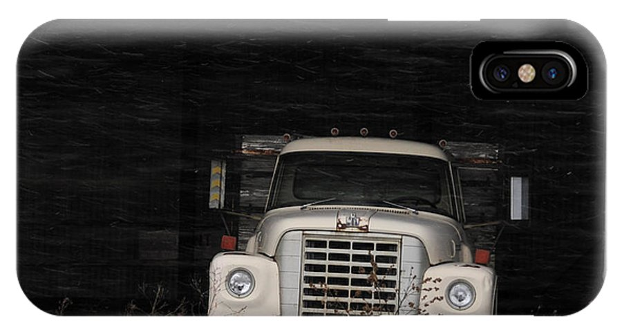 International Harvester IPhone X Case featuring the photograph International Truck by David Arment