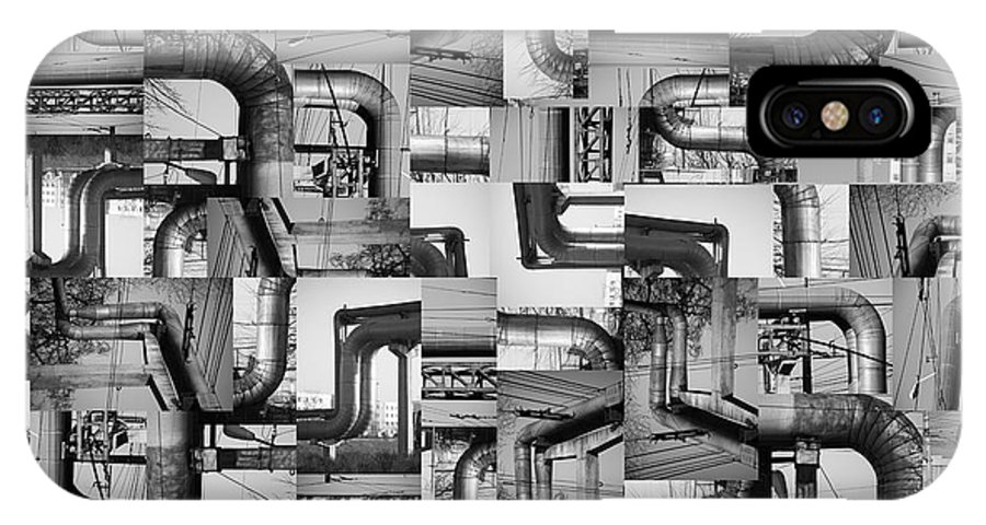 Pipes IPhone X Case featuring the photograph Intestins by Gabriela Insuratelu