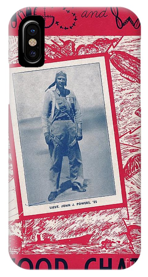 Inwood IPhone X / XS Case featuring the photograph Inwood Chatter, 1943 by Cole Thompson