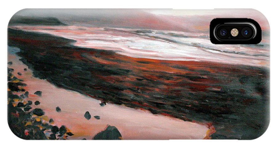 Landscape IPhone Case featuring the painting Ireland by Pablo de Choros