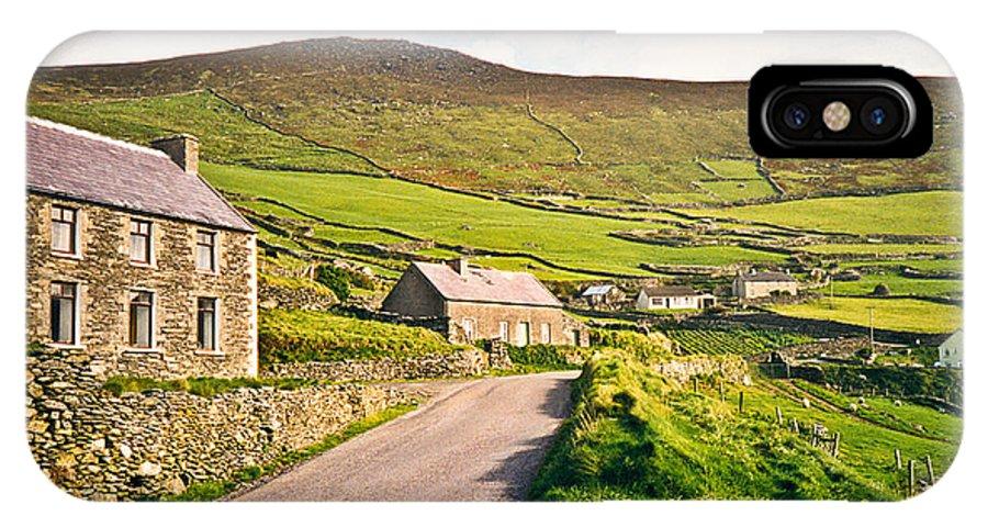 Ireland IPhone Case featuring the photograph Ireland Farmland by Douglas Barnett