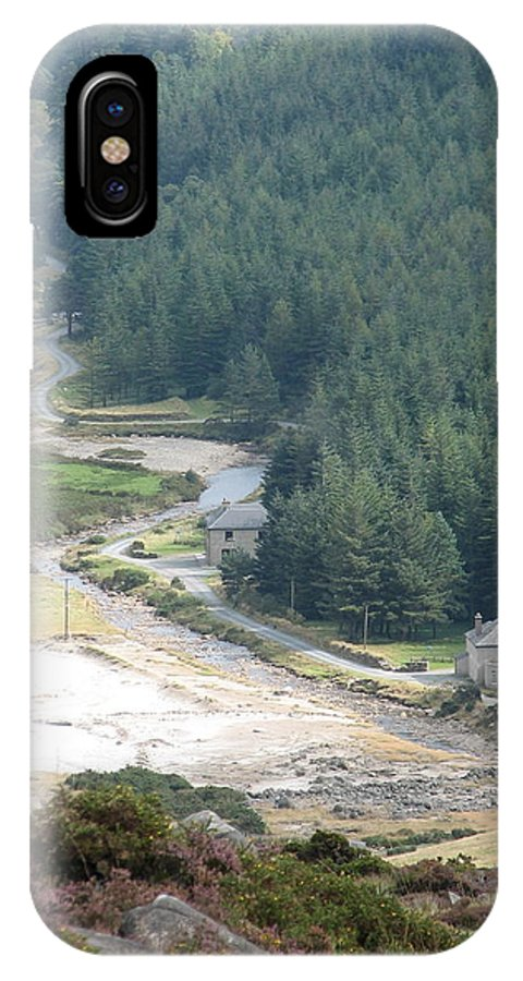Ireland IPhone X Case featuring the photograph Irish Valley by Kelly Mezzapelle