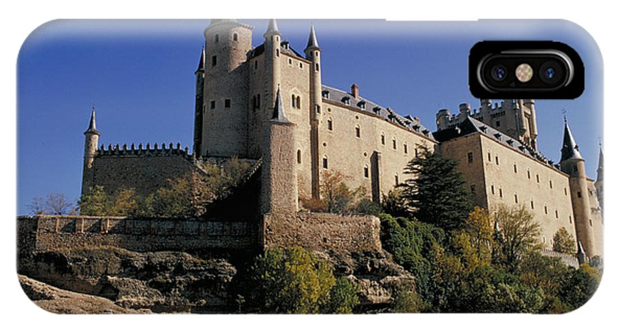Royal IPhone Case featuring the photograph Isabella's Castle In Segovia by Carl Purcell