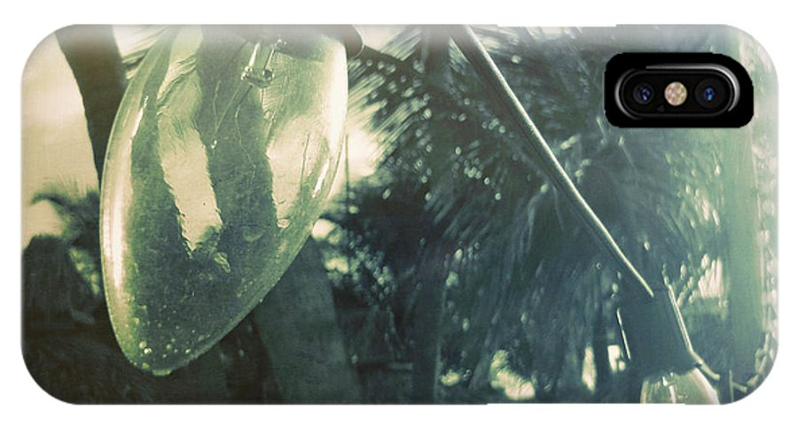 Light IPhone X Case featuring the photograph Island Greeting by JAMART Photography