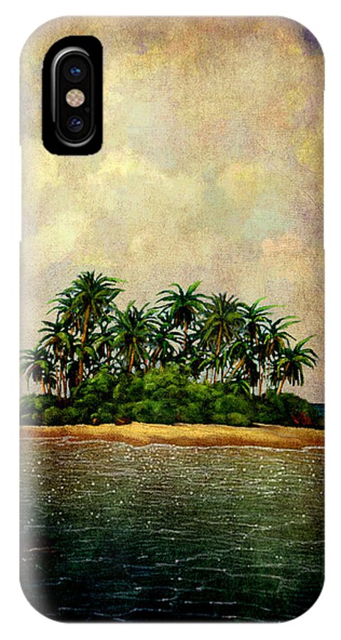 Island IPhone X / XS Case featuring the photograph Island Of Dreams by Susanne Van Hulst