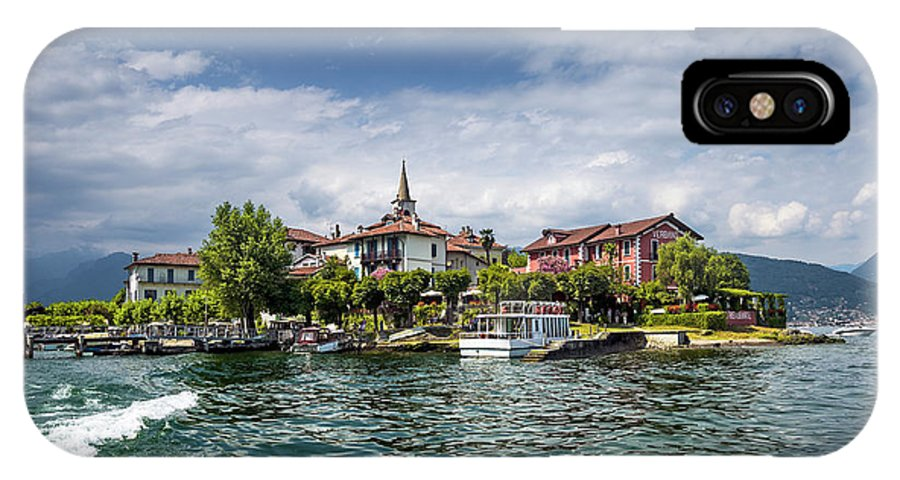 Lake IPhone X Case featuring the photograph Island Of The Fishermen by Livio Ferrari