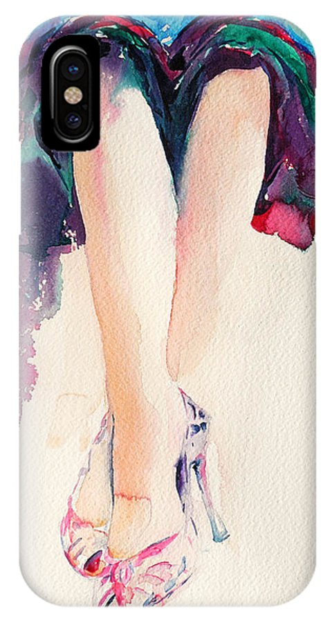 Legs IPhone Case featuring the painting It's Party Time by Stephie Butler